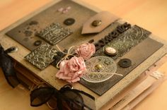 Lovely scrapbooker, although I can't read french there is enough eye candy on her blog.