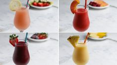 Frozen Sangria 4 Ways