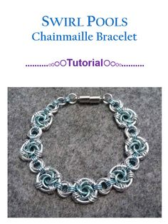 Hey, I found this really awesome Etsy listing at https://www.etsy.com/listing/242646715/swirl-pools-chainmaille-bracelet