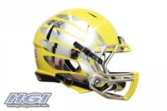 Oregon 2012 Yellow Helmet Up Close