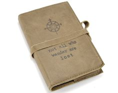 Use your leather journal at the office or take it on a hiking trip for notes or sketches. Your journal will be unique to you, and the genuine, handmade leather cover is just one more reason to get wri