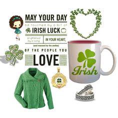 Kiss me I'm Irish! We love how cute!