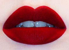 Velvetine matte liquid lipstick in Red Velvet from Lime Crime:: Vintage Makeup:: Retro Lipstick:: red lips:: Beauty:: Old Hollywood Makeup Matte Red, Velvet Matte, Velvet Lipstick, Lime Crime Red Velvet, Lime Crime Liquid Lipstick, Perfect Red Lips, Perfect Dark, Red Lip Makeup, Makeup Lipstick