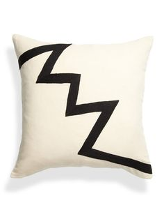 Archimedes Zig Zag Pillow - Gilt Home