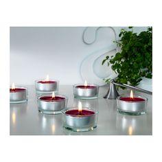 SINNLIG Vonná sviečka v kov. stojane  - IKEA