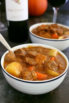 This pumpkin beef stew recipe is the perfect meal for cool autumn nights. It is savory, hearty and guaranteed to warm you up!