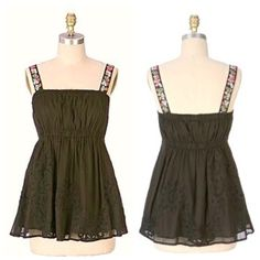 2201161a88 Anthropologie LITHE Hothouse Babydoll Tunic An Anthro oldie but goodie - in  pristine NWT condition
