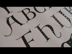 Cursive fancy letters how to design your beautiful letters
