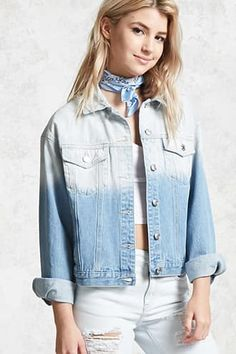 Dip-Dye Denim Jacket Jetzt bestellen unter: https://mode.ladendirekt.de/damen/bekleidung/jacken/sonstige-jacken/?uid=240246ea-f531-533a-936f-9a0f2e0d27ec&utm_source=pinterest&utm_medium=pin&utm_campaign=boards #women's #accessories #clothing #outerwear #sonstigejacken #bekleidung #jacken