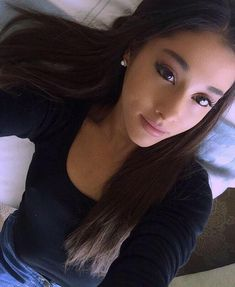 """•ARIANA GRANDE• """"hi, im Ariana. But you can call me Ari. Im really into music. Im majoring in performing arts. Im 19 and single as well, but people dont really talk to me."""" I sigh """"introduce?"""""""