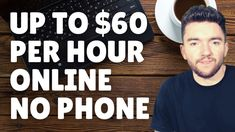 Up to $60/Hour Non-Phone Work-From-Home Jobs 2021 Work From Home Careers, Video Notes, Phone, Telephone, Mobile Phones