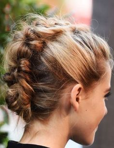 nice 15 Cute Braided Bun Hairstyles Check more at http://askhairstyles.com/15-cute-braided-bun-hairstyles/