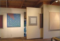 """great idea - movable walls within a pocket  - would work well for display, storage and inspirations    John Babcock—Soquel, CA  """"The different spaces within my studio all have rolling work surfaces that I use in different locations, depending on the project. The flexibility that these movable walls and tables offers has been great; the space is alive, confined only by the static walls and floor."""""""