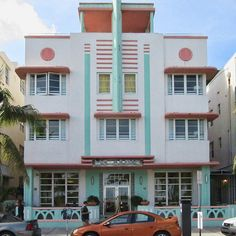 Miami Beach Art Deco Building 08