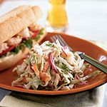 Tangy Mustard Coleslaw Recipe | MyRecipes.comI I substitute the mayo for organic yogurt