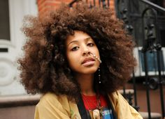 Rogue Goddess with a Fro & piercing