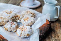 Biscotti morbidi caffè e nocciole, ricetta veloce, facile, dolci da merenda, colazione, biscotti da regalare a Natale, biscotti con albumi, senza robot