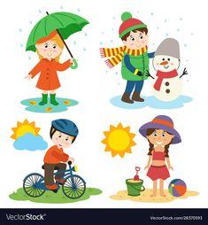 First Grade Activities, Science Activities For Kids, Montessori Activities, Disney Crafts For Kids, Winter Crafts For Kids, Dinosaurs Preschool, Preschool Crafts, Summer Season Images, English Worksheets For Kindergarten