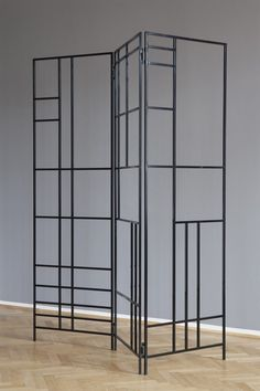 A Tale of Two Cities: Simon Mullan flits between the parallel art worlds of Berlin and London Facade Design, House Design, Door And Window Design, Metal Windows, Partition Screen, Diy Room Divider, Divider Design, Decorative Screens, Grill Design