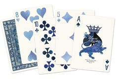 Blueblood Redux Limited Edition Playing Cards by Uusi — Kickstarter
