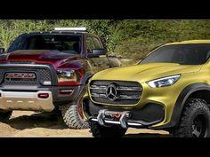 Mercedes X-Class vs Ram Rebel TRX
