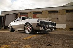 1967 Camaro Ss Ls Lsx Silver Pro Touring Supercharged Dwayne Klippert Front Quarter View Low - Provided by Hotrod
