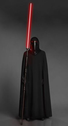 Emperors Shadow Guard with a lightsaber pike