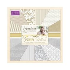 Crafter's Companion Sara Signature Collection Together Forever - 6 X 6 Paper Pad
