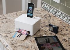 Smartphone Photo Cube Printer—how smart!