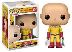 Funko Pop Anime: One Punch Man-Saitama. From One Punch Man, Saitama, as a stylized POP vinyl from Funko! Stylized collectable stands 3 ¾ inches tall, perfect for any One Punch Man fan! Collect and display all One Punch Man POP! Saitama One Punch Man, Anime One Punch Man, Pop Vinyl Figures, Funko Pop Figures, Anime Pop Figures, Figurines Funko Pop, Anime Figurines, Disney Stars, Marvel Legends