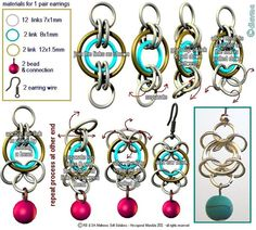 Diavmas Handcrafted Chainmaille Jewellery: Chainmaille Tutorials