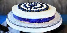 Itsenäisyyspäivän kahvihetken kuningatar on Mustikkajuustokakku Food Pictures, Bakery, Berries, Cheesecake, Deserts, Goodies, Food And Drink, Sweets, Sugar