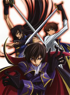 Code Geass- Been meaning to watch this one for ages but STILL haven't gotten around to it. Looks brilliant though