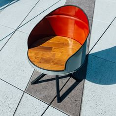 Gin Barrel by bakedroast on Etsy Car Furniture, Barrel Furniture, Barrel Chair, Handmade Furniture, Repurposed Furniture, Industrial Furniture, Pallet Furniture, Furniture Design, Drum Seat