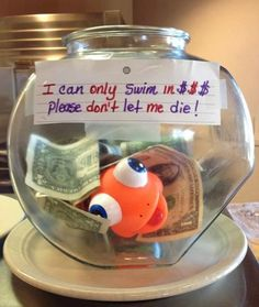 21 Incredibly Effective Tip Jars  A fun way to encourage donations to the CAS. Not sure if allowed though.