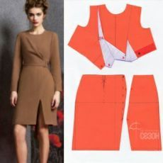 vk.com Dress Sewing Patterns, Blouse Patterns, Clothing Patterns, Blouse Designs, Coat Patterns, Bodice Pattern, Jacket Pattern, Pattern Draping, Sewing Clothes