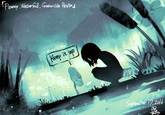 Undertale Waterfall Genocide Route Credits to the artist Undertale Quotes, Undertale Pictures, Anime Undertale, Undertale Drawings, Frisk, Undertale Flowey, Rpg Horror Games, Toby Fox, Character Art