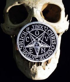 Coven Jinx RARE Patch Goat of Mendes Baphomet Witchcraft Rock Satan Pentacle | eBay