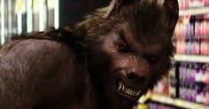 Werewolf from the film Goosebumps.