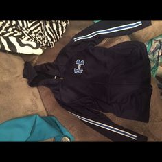 Under Armour hoodie Youth size XL, but fits a women's small as well. In excellent condition. Under Armour Jackets & Coats