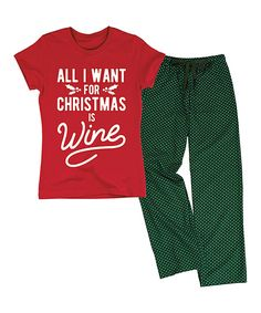 e1ac15d49b9 Love this Red  amp  Green  All I Want for Christmas  Lounge Set by