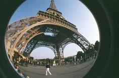 Eiffel Tower by fisheye