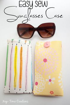 My {cheap} sun glasses have been floating around the bottom of my purse getting scratched up for the past few years. I just haven't taken the time to make a glasses case, but this week I changed that! My tutorial for the week is this easy sew sun glasses case, and it will keep my …