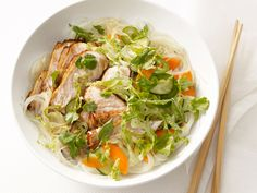 Cold Asian Noodles With Pork from #FNMag #myplate #protein #veggies #grains