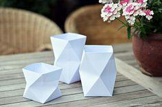 origami lights...