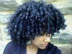 Curlformers? To learn how to grow your hair longer click here - http://blackhair.cc/1jSY2ux