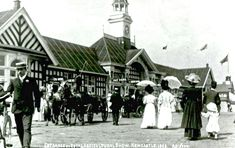 Royal Agricutural Show, Newcastle, 1908, from the DVD, Newcastle upon Tyne in old picture postcards, by the Six Townships history group