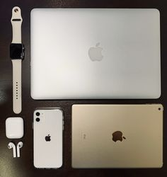 Apple iPhone iPad in Gold, Macbook Air Apple Watch in Stainless Steel and Sport Stone Band, Airpods Gen Airpods Macbook, Macbook Pro Case, Macbook Air 13, Iphone Watch, Iphone 11, Apple Iphone, Apple Watch Ipad, Disney Acrylic Nails, Airpods Apple