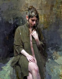 Jeremy Mann, 1979 ~ Impressionist Figurative painter