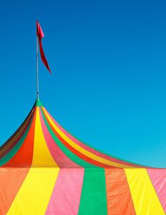 Colorful Big Top Tent